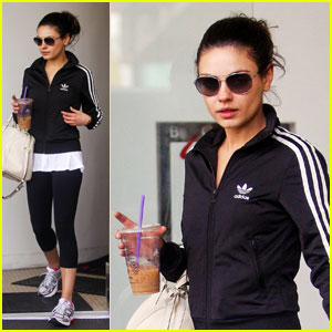 Mila Kunis: L.A. Workout Woman