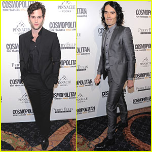 Penn Badgley & Russell Brand: Fun Fearless Male Awards!