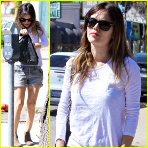 Rachel Bilson: Casual Lunch Date!