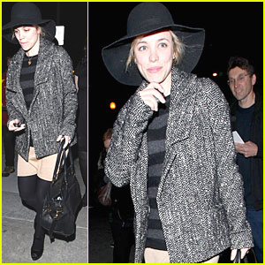 Rachel McAdams: 'Avenue Q' Performance!