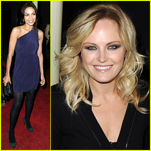 Rosario Dawson & Malin Akerman 'Walk Into A Bar'