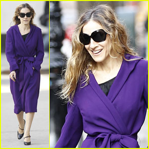 Sarah Jessica Parker: Pretty in Purple