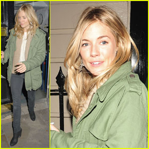 Sienna Miller: Relationship with Jude Law 'Had Run Its Course'