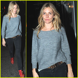 Sienna Miller: Little Red Riding Boots