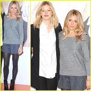 Sienna Miller: Twenty8Twelve Selfridges Launch with Savannah!