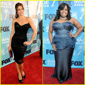 Sofia Vergara & Amber Riley: NAACP Image Awards!