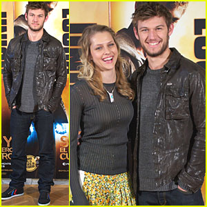 Alex Pettyfer & Teresa Palmer: 'Number Four' in Madrid!