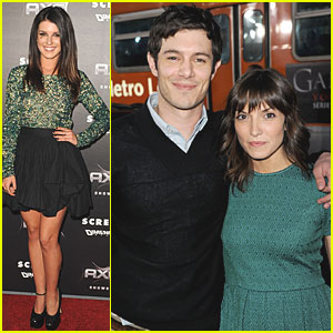 Adam Brody: 'Scream 4' Premiere with Lorene Scafaria!