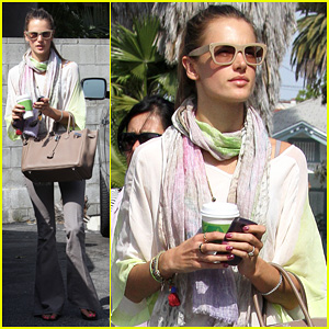 Alessandra Ambrosio: Beverly Hot Springs Spa Visit!