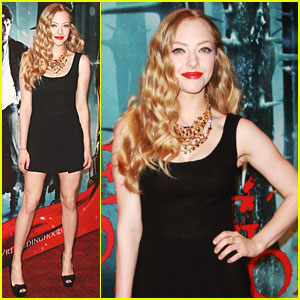 Amanda Seyfried: 'Red Riding Hood' European Premiere!