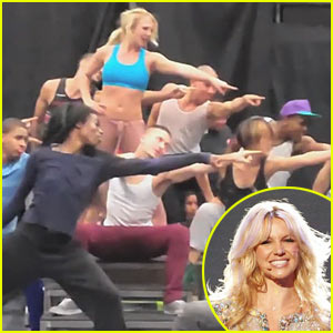 Britney Spears Concert Rehearsal Video - Exclusive