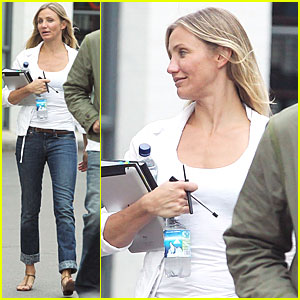 Cameron Diaz Gets to Work on 'Gambit'