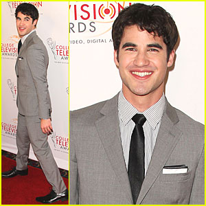 Darren Criss: College Television Awards!