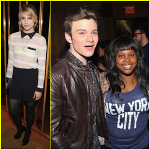 Dianna Agron: 'Thor' After-Party with 'Glee' Cast!