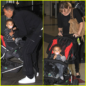 Ellen Pompeo & Chris Ivery Fly With Stella