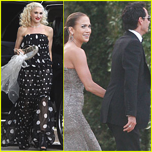 Gwen Stefani: Weekend Wedding Guest!