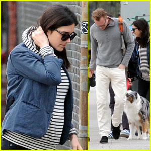 Jennifer Connelly: School Run with Paul Bettany