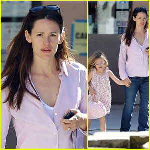 Jennifer Garner: Errands with Violet!