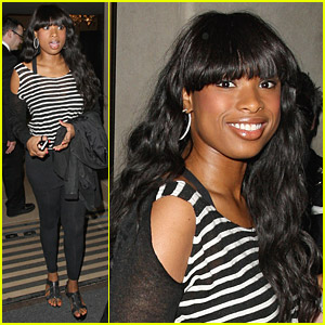 Jennifer Hudson: Happy At May Fair Hotel