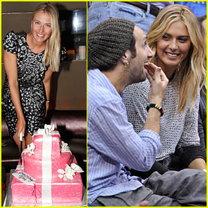 Maria Sharapova: Birthday in the Bahamas!