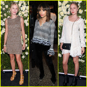 Naomi Watts & Chloe Sevigny: Chanel Tribeca Artists Dinner!