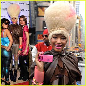 Nicki Minaj: Casio Tryx Camera Launch!