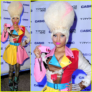 Nicki Minaj: Tryx Out Kickoff Party