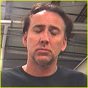 Nicolas Cage: Mug Shot Revealed