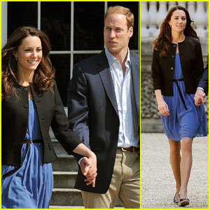 Prince William & Kate Middleton: Day After Wedding!