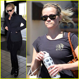 Reese Witherspoon: Fitness & Flight!