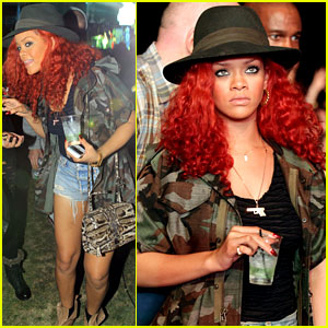 Rihanna: Coachella Camouflage Chick!
