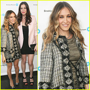 Sarah Jessica Parker: Brooklyn Artists Ball with Liv Tyler!