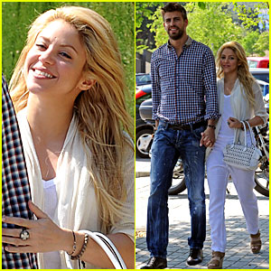 Shakira & Gerard Pique: Lunch Lovers!
