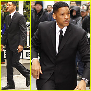 Will Smith Suits Up for MiB 3