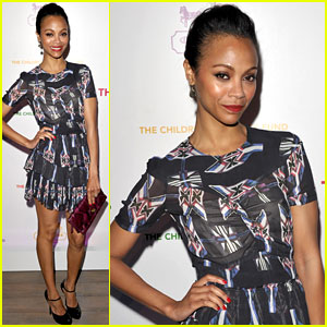 Zoe Saldana: Lookin' Lovely for Coach!