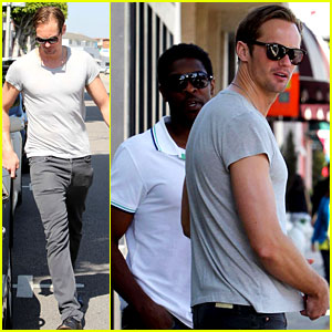 Alexander Skarsgard: Julianne Moore's Movie Husband!