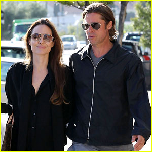Angelina Jolie & Brad Pitt: Costume & Party Shopping!