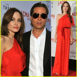 Brad Pitt & Angelina Jolie: 'Tree of Life' Premiere Pair!