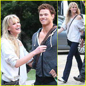 Anne V &#038; Kellan Lutz: Dylan George Photo Shoot!