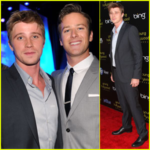 Garrett Hedlund & Armie Hammer: Young Hollywood Awards