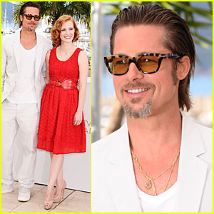 Brad Pitt: Cannes Photo Call for 'Tree of Life'