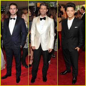 Chace Crawford - MET Ball 2011