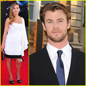 Chris Hemsworth & Elsa Pataky: Thor Premiere
