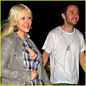 Christina Aguilera and Matt Rutler: Darby Date!