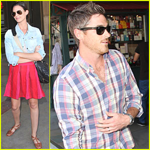 Dave & Odette Annable: Grove Shopping Trip!