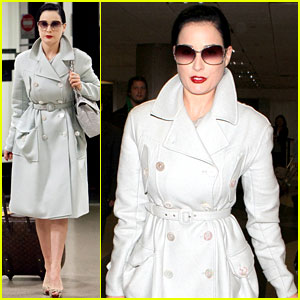 Dita Von Teese: Fashion Forward at LAX