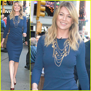 Ellen Pompeo: Good Morning America!