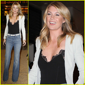 Ellen Pompeo: MTV's 'The Seven' Visit!