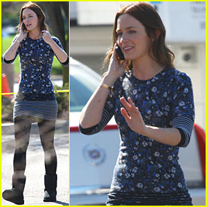 Emily Blunt: Filming 'Five Year Engagement' with Jason Segel!