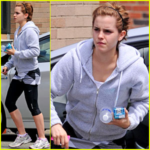 Emma Watson: Weekend Workout